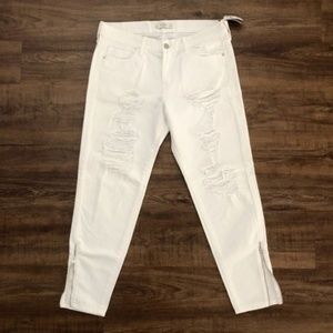 Abercrombie & Fitch Distressed Skinny Jeans 6/28